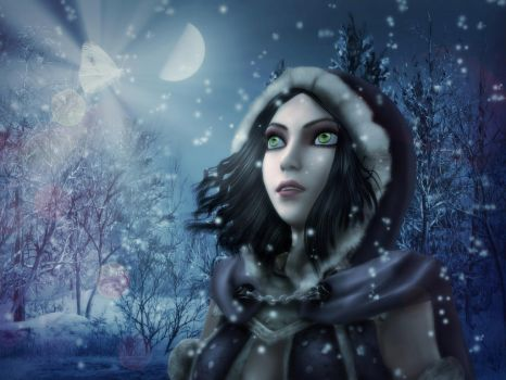 Winter Wonder by AnnaPostal666
