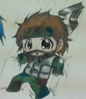 Chibi Snake Colored by RoxasKuroishi
