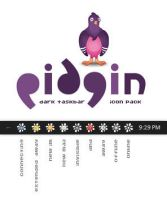 Pidgin task bar icons by cecovtrance
