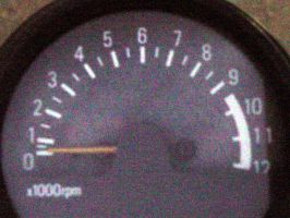 Motorcycle Tachometer - Color by armageddon