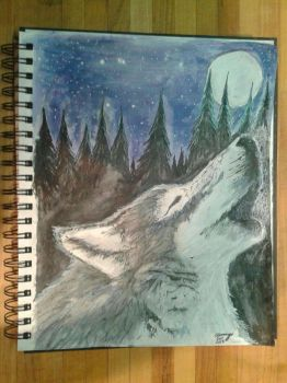 When the wolf cries to the moon by SharayaDill
