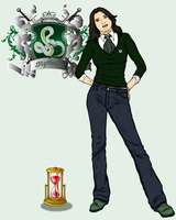 Updated Slytherin - Marcelle by Ladymalk