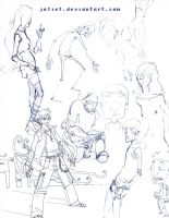 sketches by jaliet