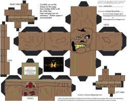 Horror11: Imhotep Cubee by TheFlyingDachshund