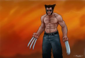 WOLVERINE: unscathed by NoahBDesign