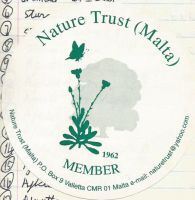 Nature Trust Malta by Faunamelitensis
