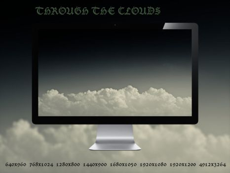 Through The Clouds Wallpaper Pack by AntonioGouveia