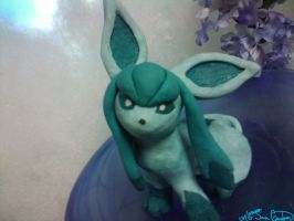 Clay Glaceon Figure by Sara121089