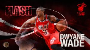 Dwayne Wade: Flash by PJosull