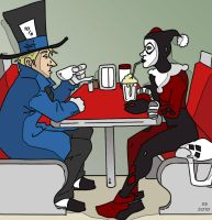 Tea with the Hatter by BlitheFool
