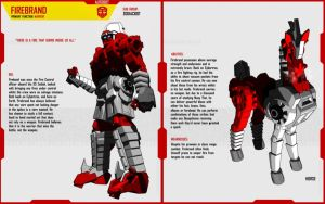 ZODIACBOT FIREBRAND by F-for-feasant-design