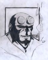 HellBoy by lucasvfa