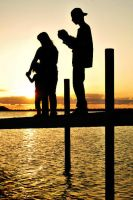 Family Silhouette by SublimeBudd