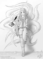Request - Kushina Uzumaki by zeth3047