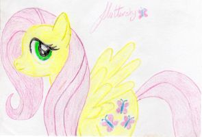 Fluttershy by Gypsy-puma