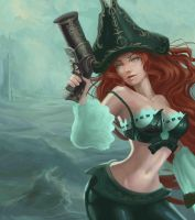 Miss Fortune  - League of Legends by andrea-g-arcano