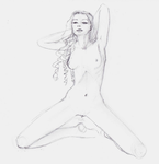 Random Nude Girl by AzraelleWormser
