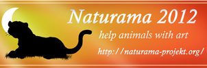 Naturama banner tiger by Mutabi