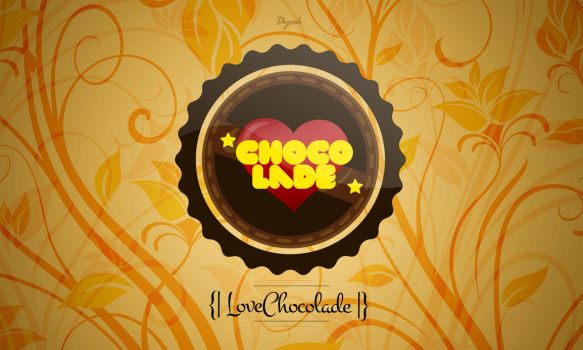 ILove chocolade design logo by uyeek