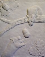 Clay relief by Avalon90