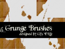 Grunge brushes by gfx-elfe