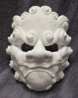 Komainu Mask by Coeurlregina