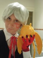 Allen cosplay with Timcanpy by evilfuzzle2