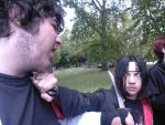 Itachi in a spot of bother by animeexpofans2010