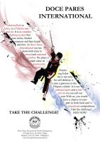 TAKE THE CHALLENGE poster 01 by RA-DO