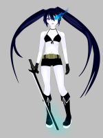Black Rock Shooter by Lilith-Blythe