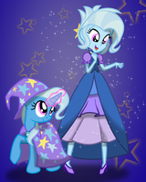dressed up Trixie by geraritydevillefort