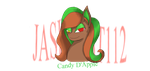Candy D'Apple (1/3 OC Halloween Special ponies) by jashinist112