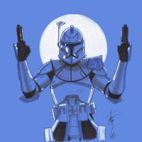 12x12 Captain Rex SLC by Hodges-Art