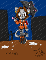 singing in the rain by kittycatchan