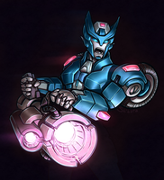 Fanart - Chromia by shibara-draws-mecha