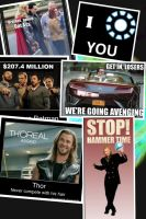Avengers SPOOF Collage by Mooch13000