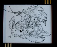 Great A'Tuin by Hurek