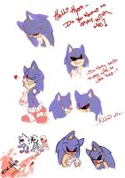 Sonic.EXE Doodles by SonadowRoxmyWorld