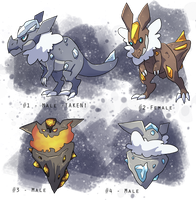 PKMNation: Clutch 2 by WolvesWithoutTeeth