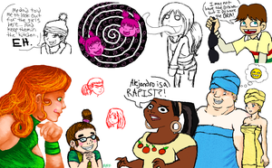 Total Drama Doodle Dump by Mystic-Fire