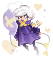 Drifloon Gijinka by MagicBunnyArt