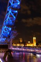 London - Thames at night by PhilsPictures