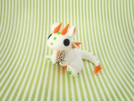 Carrot the Key Keeper Dragon by KriannaCrafts