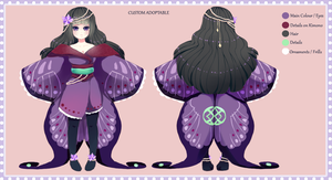Custom Butterfly Girl Adoptable by Andreia-Chan