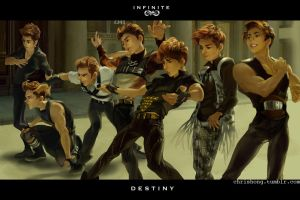 Infinite - DESTINY by kimchii