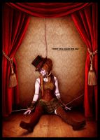 puppet doll killing her self by p32n