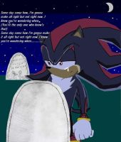 EDIT: Shadow at marias grave by lady-warrior
