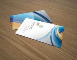 Fire ice business card by Lemongraphic