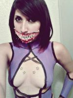 Mileena Cosplay by 00kin00