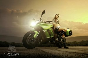 The Foxy Lady II by perigunawan